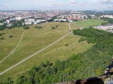 Vista da Kaknästornet.