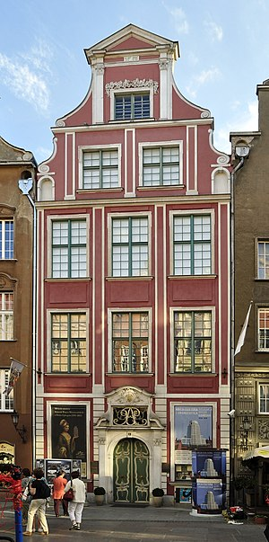 Uphagen's House - Front entrance