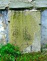Kamienna Góra, kościół pw. śś. Piotra i Pawła, płyta nagrobna w ścianie muru przykościelnego DSC07373.JPG