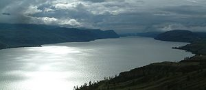 Kanada-British Columbia-Kamloops Lake.jpg