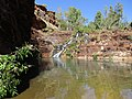 Karijini National Park - Fortescue falls.jpg