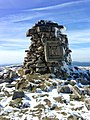 Karkonoski Park Narodowy - Wielki Szyszak, ruiny pomnika Wilhelma I, zdjęcie 2.jpg