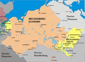 Mecklenburg-Strelitz 1815–1934
