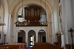 Kath. Pfarrkirche Sankt Johann-Köppling, Sankt Johann ob Hohenburg Interior 11.jpg
