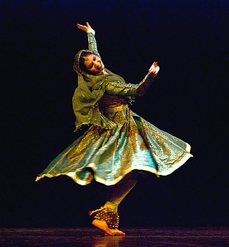 Indian classical dance - Image: Kathak 3511900193 986f 6440f 6 b retouched