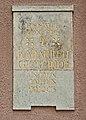 Katharinenkirchplatz 2 Brandenburg plaque.jpg