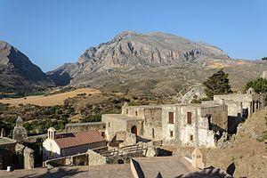 Preveli - Kato (Lower) Preveli Monastery