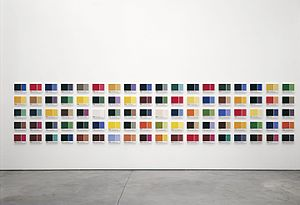Horst Keining - Horst Keining-90-Lukas-plates, each 24,3 cm x 33,1 cm, 2000, 2002 at Kunsthalle Lingen,Copyright Achim Kukulies and the artist