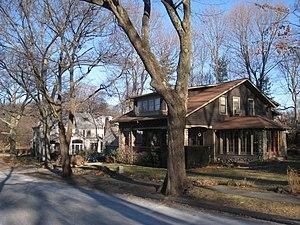 Kensington Park Historic District - Representative houses