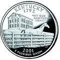 Kentucky quarter, reverse side, 2001.jpg