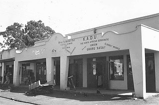 Kenya African Democratic Union political party