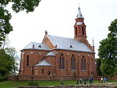 Kernavė - Church 01.JPG