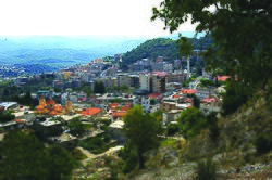 The town of Kessab, Syria