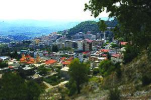 2014 Latakia offensive - Image: Kesab gen. view 2010