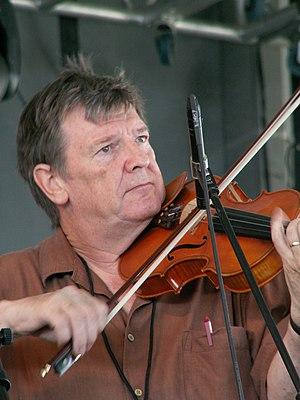 Kevin Burke (musician) - Kevin Burke at the Dublin Irish Festival, 2008