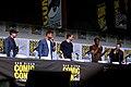 Kevin Feige, Chris Hemsworth, Tom Hiddleston, Chadwick Boseman & Mark Ruffalo (36078782312).jpg