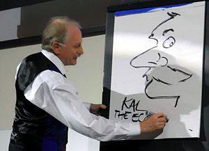 Kevin Kallaugher - Kallauger at the Warwick economics summit in 2009