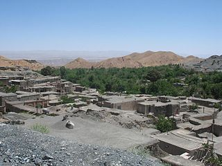 Khorashad village in South Khorasan, Iran