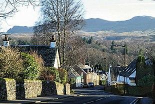 Main street in Killearn