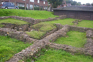Kings Weston Roman Villa - The site of the villa