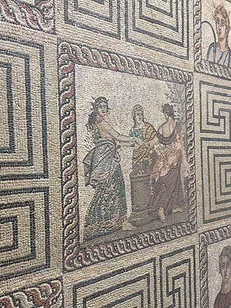Kissamos - Mosaic in museum