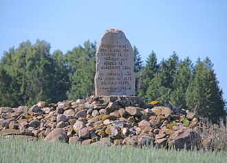 1811 in Sweden - Memorial for those killed in the riots 1811