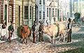 Klosterochsenzug - Bremen 1845.jpg