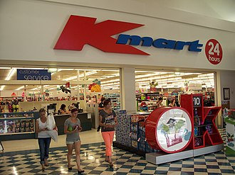 Kmart Australia - A 24-hour Kmart store within New Town Plaza, New Town, an inner-suburb of Hobart.