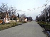 Knićanin, main street.jpg