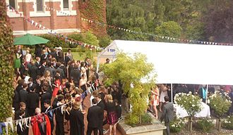Knox College, Otago - College Garden Party, 2009