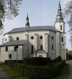Złoczew - Church of St Andrew