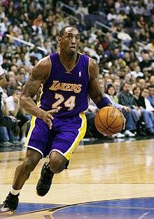 7fbdf348 Kobe Bryant jogando pelos Lakers, na temporada de 2007-2008.