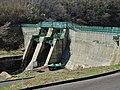 Kodamagawa II Dam left view.jpg