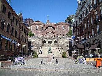 Helsingborg - Image: Konsul Trapps plats
