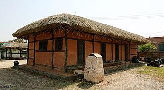 Marie-Nicolas-Antoine Daveluy - Residence of Bishop Antoine Daveluy between 1845 and 1866 in the village Sin-ri (rural part of Dangjin).