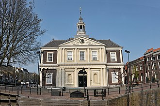 Royal Academy of Art, The Hague - The Korenbeurs at Schiedam belonged to the Academy, too.