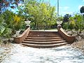 Koreshan SHS bamboo landing stairs up01.jpg