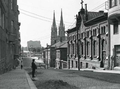 Korkeavuorenkatu ja Johanneksen kirkko 1908 I K Inha.png