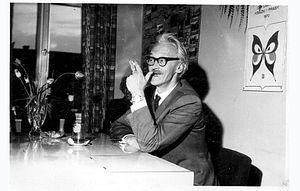 Kornel Filipowicz - Kornel Filipowicz in Andrychów, 1970
