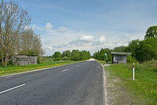 Vaopere Village in Rapla County, Estonia