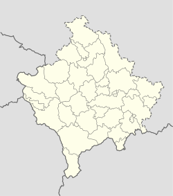 Zvečan is located in Kosovo
