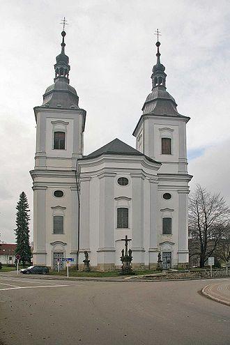 Žamberk - Image: Kostel Svatého Václava v Žamberku