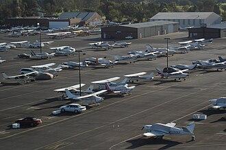 Palo Alto Airport - Bird's-eye view of the facilities.