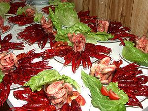 Crayfish party called Kräftskiva