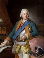 Portrait of Alois Friedrich von Brühl (1739-1793).