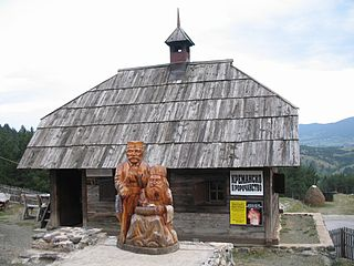 Kremna Village in Šumadija and Western Serbia, Serbia