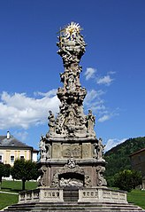 Plague column in Kremnica
