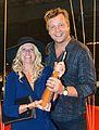 Kristallen-vinnarna 2013 Christine Meltzer och Johan Petersson.jpg