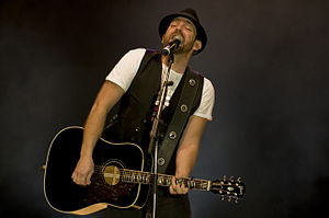 Kristian Bush - Kristian Bush at Ramstein Air Base, Germany (2009)