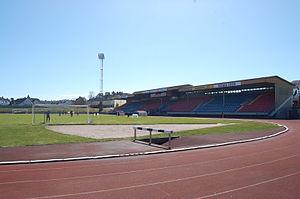 Kristiansand Stadion - Image: Kristiansand stadion